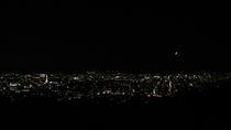 将軍塚の夜景