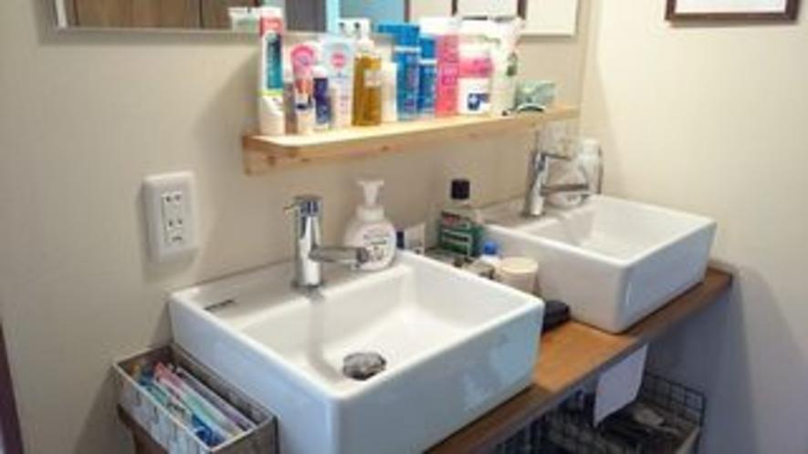 洗面台備品(無料サービス)
