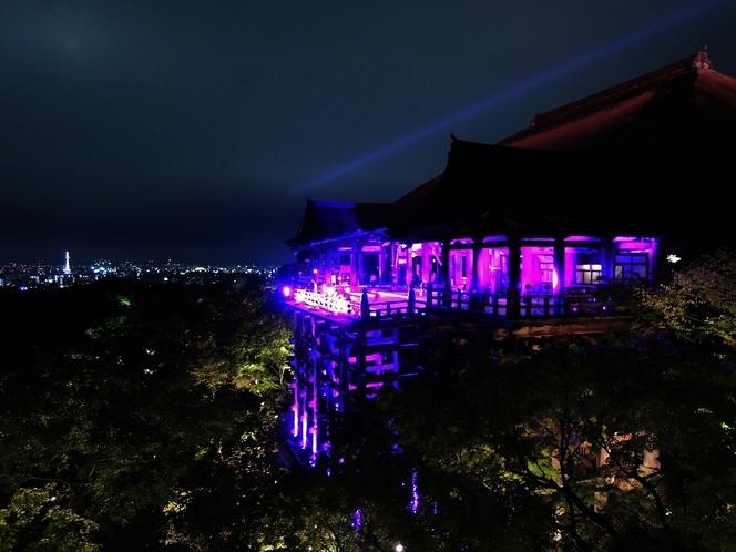 清水寺10月の特別拝観