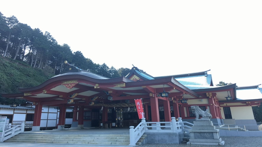 石鎚神社 本社殿