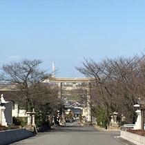 石鎚神社入り口