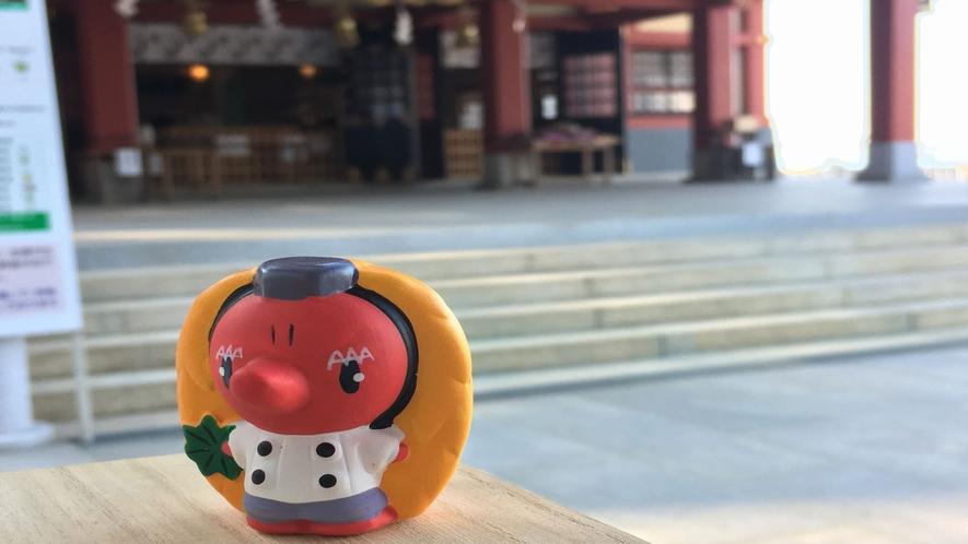 石鎚神社のマスコット「てんてん」