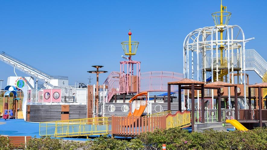 *【総合公園】海族船サンセット号