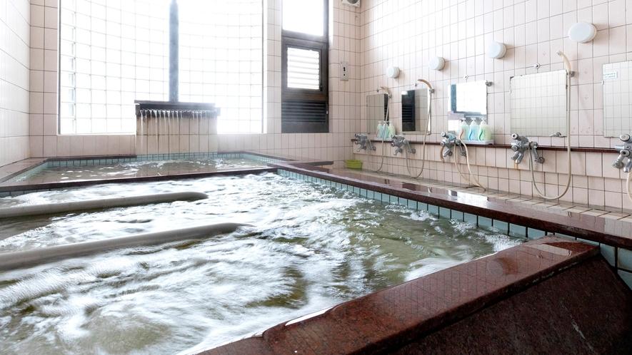 *良質な天然温泉が1日の疲れを癒してくれます