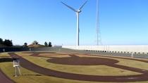 *<内灘町総合公園>自転車競技場