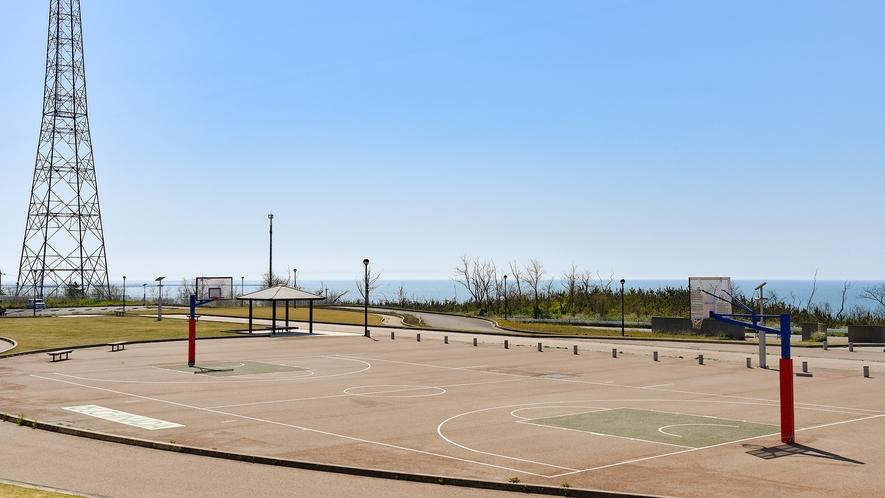 *バスケットボールコート