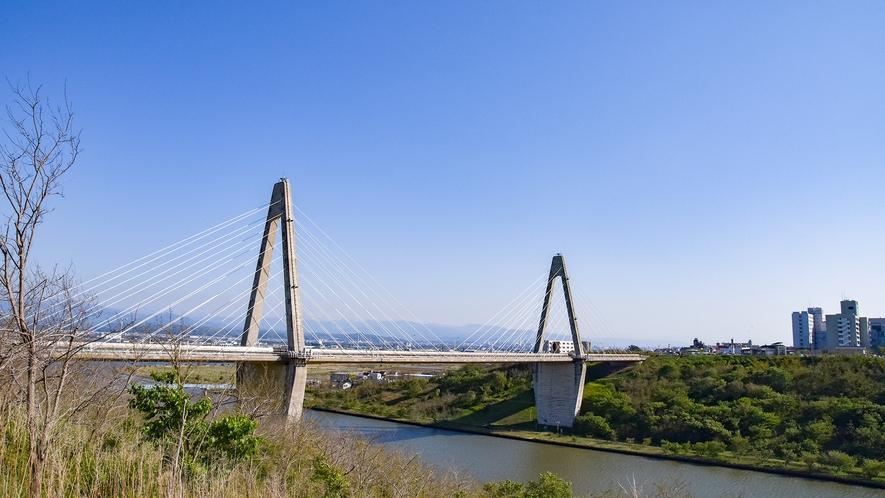 *【周辺観光】内灘大橋