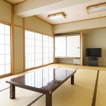 グループでの宿泊におススメの広々とした和室のお部屋です