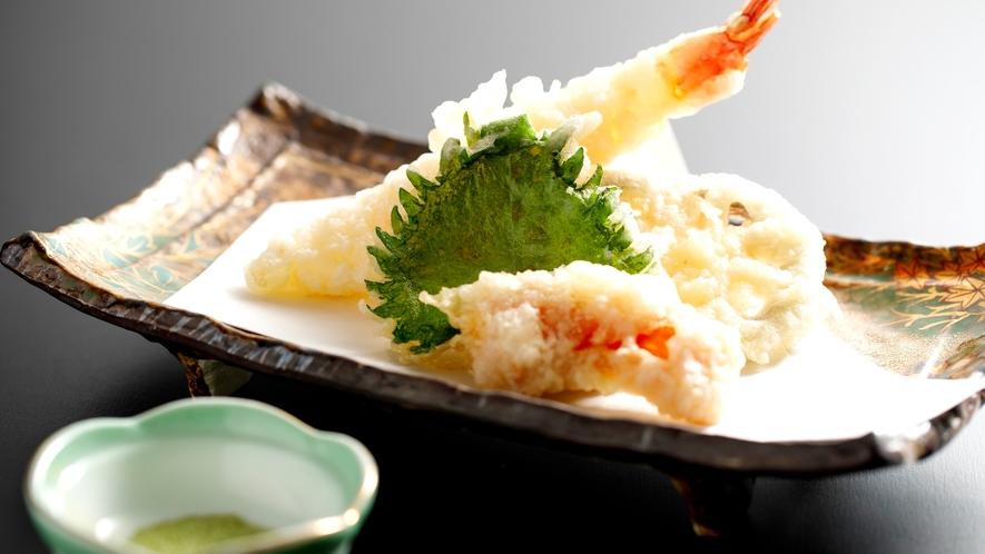 *ご夕食一例(天ぷら)