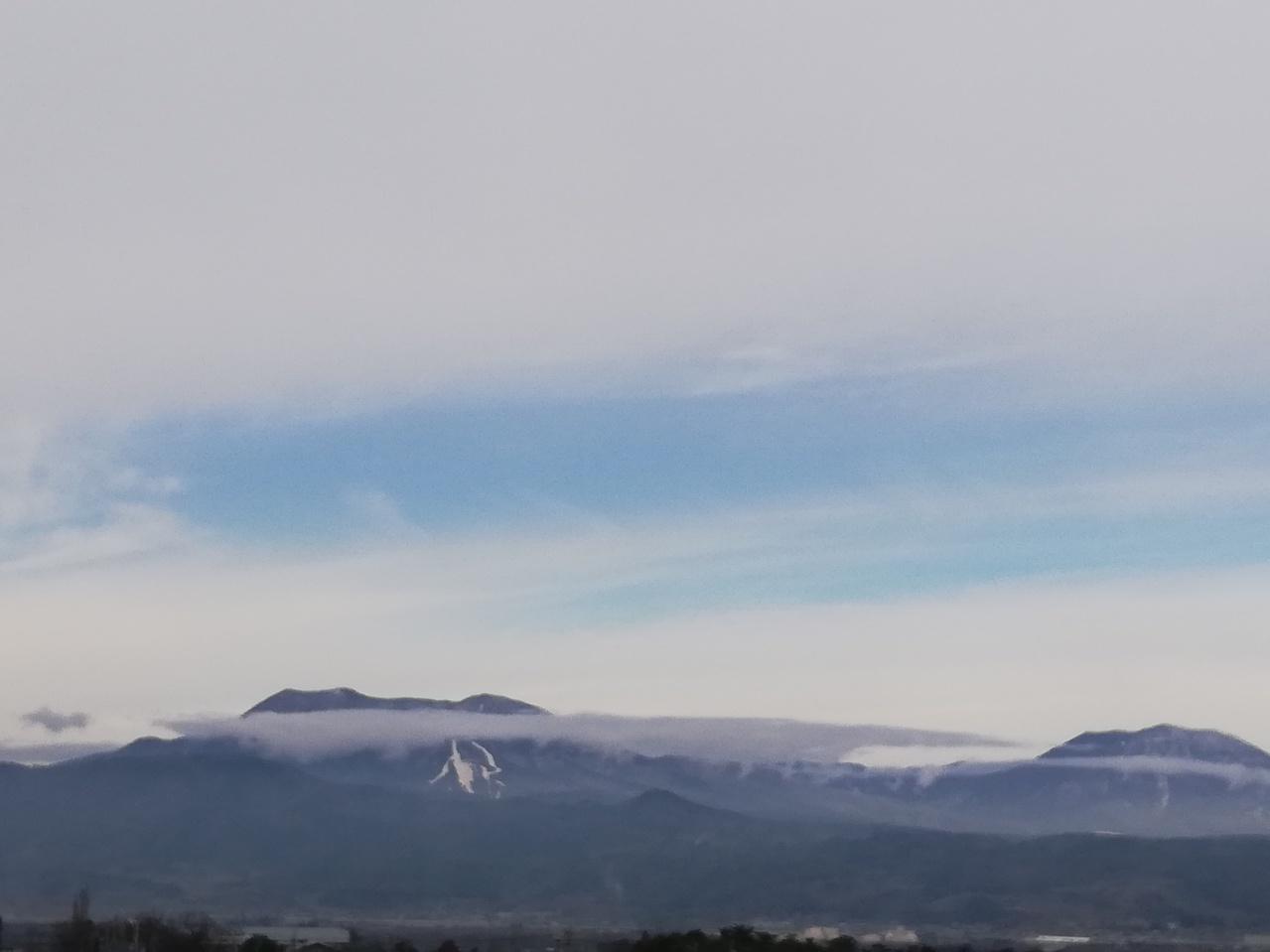 冬の北信五岳