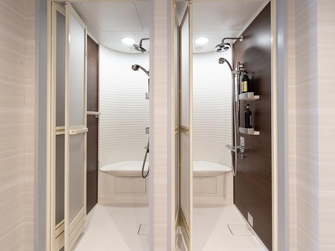キャビン風カプセルルーム  シャワールーム