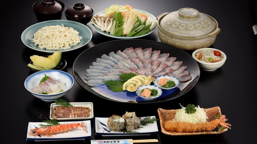 鍋コース(海鮮しゃぶしゃぶ) ※冬季限定