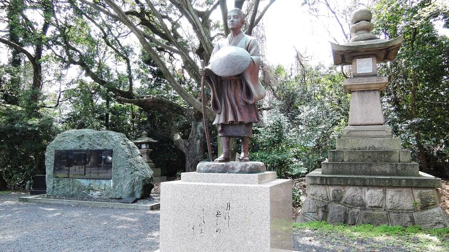 *気比神宮(松尾芭蕉)