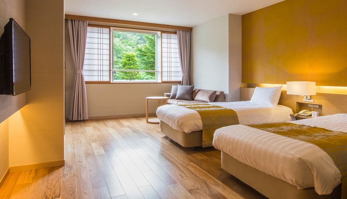 【ユニバーサルスタンダード/38㎡】独立したバスルームを備えた段差の少ない洋室または和洋室