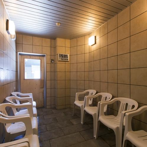 【大浴場DAI-NO-JI】温まった身体を優しく冷やすクールサウナ。
