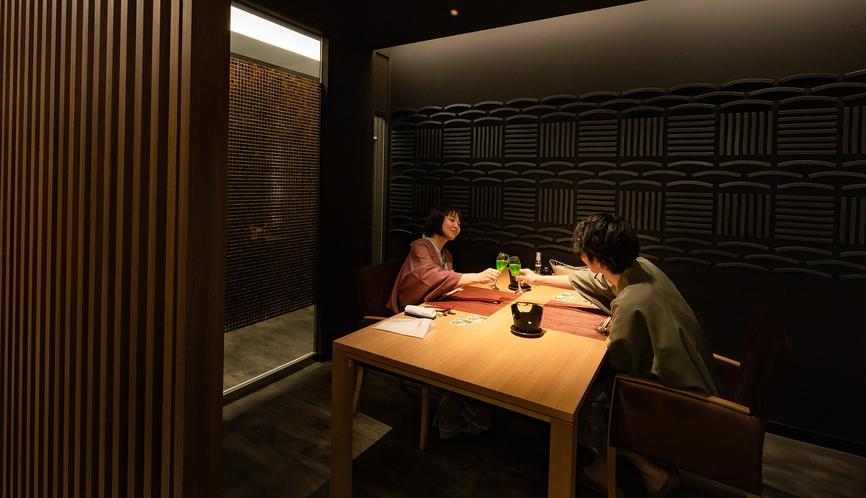 【もりの風茶寮】ご夫婦やご家族にも人気の個室食事処です。