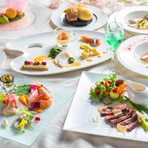 【ZEN・春】北海道食材を使ったフレンチ&イタリアンのフルコースです。
