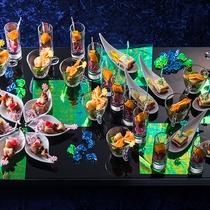 【9~11月限定・夕食ブッフェ】オリジナル紅チャーシューや噴火湾産蛸をアレンジしたオーロラピンチョス