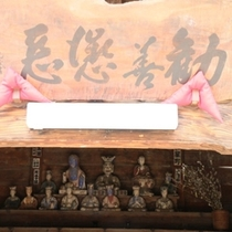 閻魔堂:十王像が安置されています。