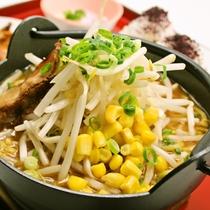 夕食(一例):ラーメン(味噌・豚骨)