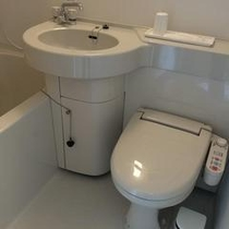3点式ユニットバス(風呂・洗浄付きトイレ・洗面台)