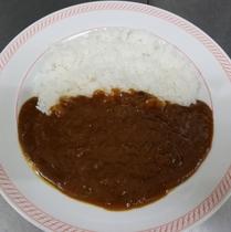 夕食(一例):カレーライス