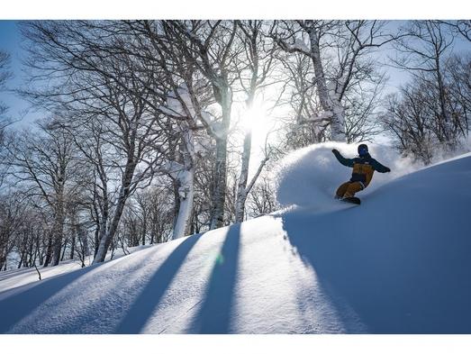 水神温泉&夏油高原スキー場2日リフト券付き宿泊プラン【60歳以上限定】