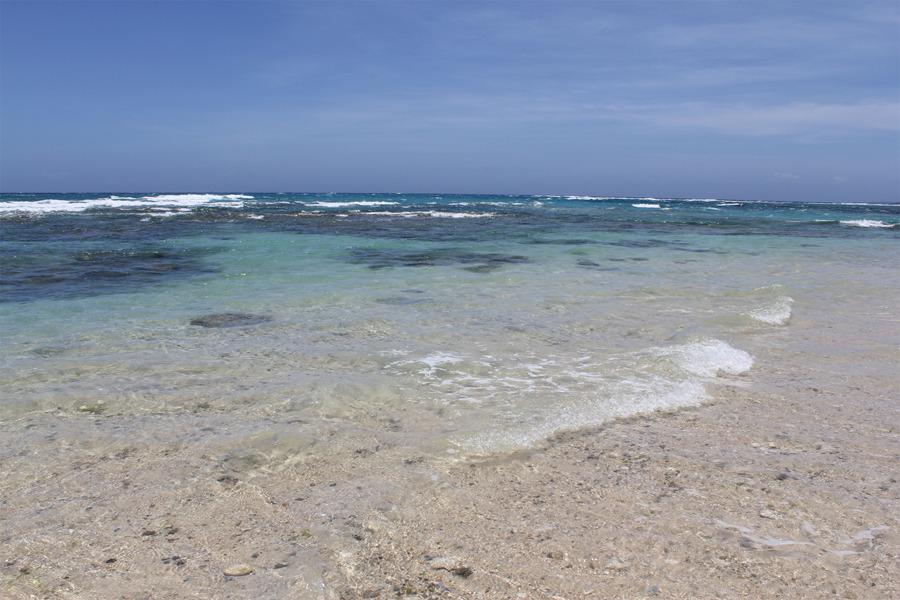 コテージから一番近いビーチ