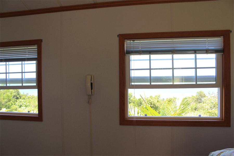 プレミアム スイート ツイン 窓からの眺め