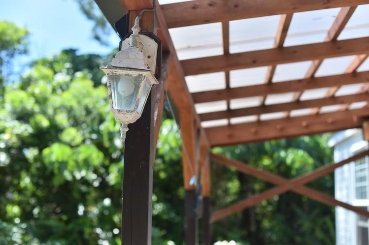 ・ダブルスイート:屋外照明も設置済み!