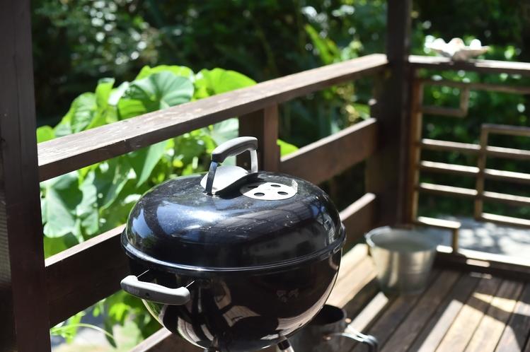・ダブルスイート:BBQをご希望の方は「BBQコンロ付き」プランをご予約ください