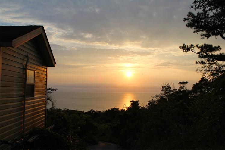 ・もちろん夕日もパノラマでお楽しみいただけます