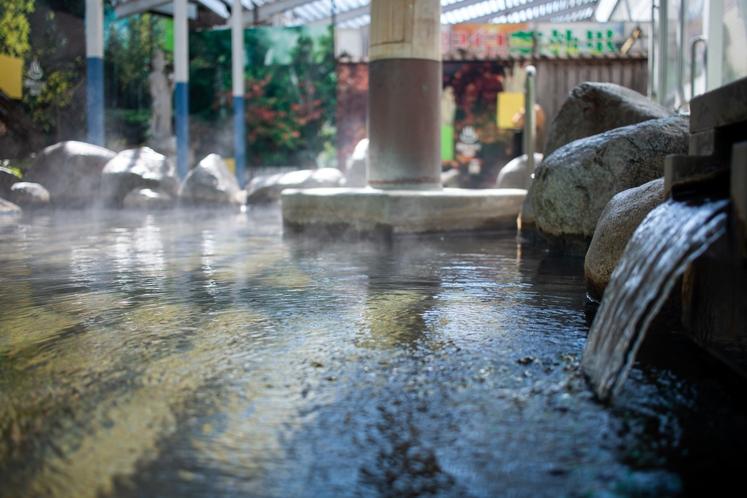 【温泉】美人の湯と呼ばれる温泉をお楽しみ下さい♪