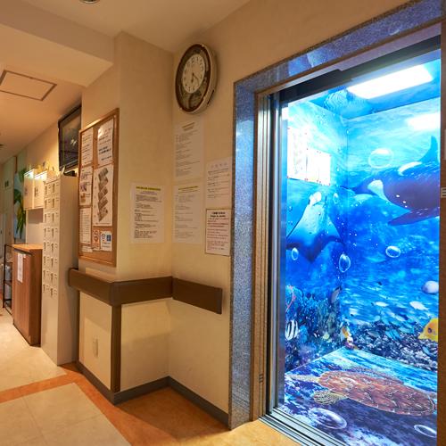 ●エレベーターホール