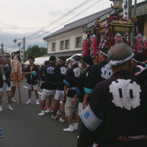 松代のお祭り