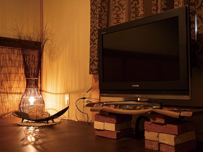 テレビ&間接照明(全客室設置)