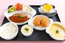 【夕食】お子様プレートのイメージ