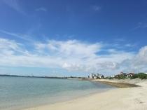 徒歩10分程に展望台のある静かな南浜公園ビーチ堤防からの眺めもよく気軽にお立ち寄り
