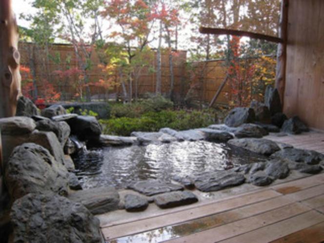 貸切露天風呂「瞑想の湯」