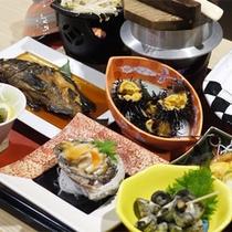 *夕食一例/気仙沼の獲れたて海の幸がほんとに豊富!※料理内容は水揚げ状況により異なります。
