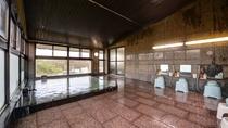 *【3階展望風呂】景色の異なる2つの天然温泉をお楽しみください。