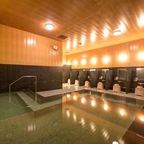 *【1階大浴場】昼と夜では表情が異なる大浴場。ごゆっくりお寛ぎください。