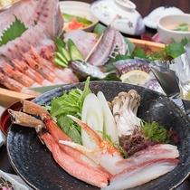 *【お料理一例】新鮮な旬の味覚をご堪能ください!※季節によって食材は変わります。