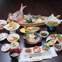 *【豪華舟盛り付!漁師御膳(一例)】旬の天然地魚を味わえる豪華なプラン♪