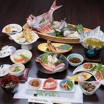 *【漁師御膳(一例)】季節によってお料理内容は変わります。