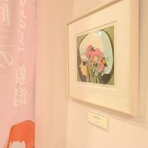 *【ロビー】象潟出身の版画家・池田修三さんのひとつひとつ異なる作品を是非ご覧ください!