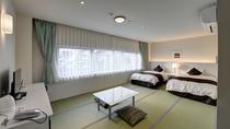 *【(海側)ファミリールーム一例】お子様連れにも安心!ゆったりとした和洋室です。