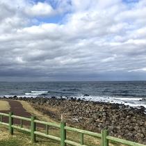 *【道の駅 ねむの丘】朝早くから海沿いを散歩するのもおすすめです!