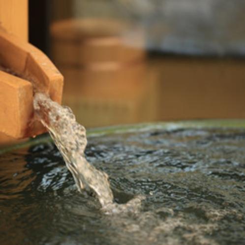 【人間用露天風呂】かけ流しの温泉を客室で一人占め!