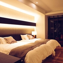 【寝具:シモンズ使用】快適な睡眠を実現致します。